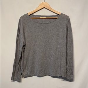 Gray Madewell Long Sleeve T Size Large